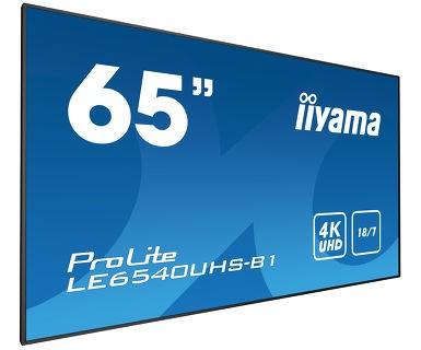 "iiyama LED ProLite LE6540UHS-B1 164 cm (65"")"
