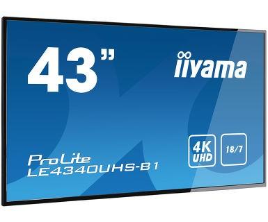 """iiyama LED ProLite LE4340UHS-B1 (43"""") schw."""